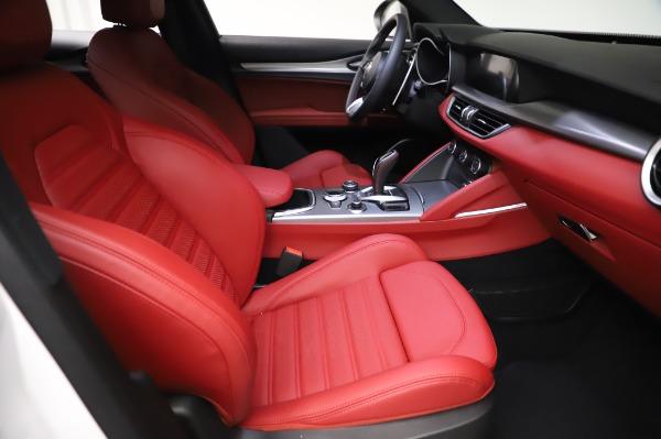 New 2021 Alfa Romeo Stelvio Ti Sport Q4 for sale $56,240 at Pagani of Greenwich in Greenwich CT 06830 23