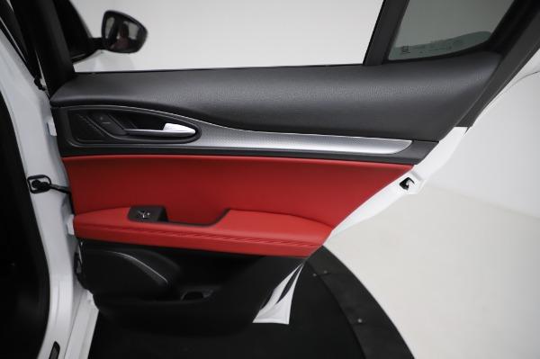 New 2021 Alfa Romeo Stelvio Ti Sport Q4 for sale $56,240 at Pagani of Greenwich in Greenwich CT 06830 27