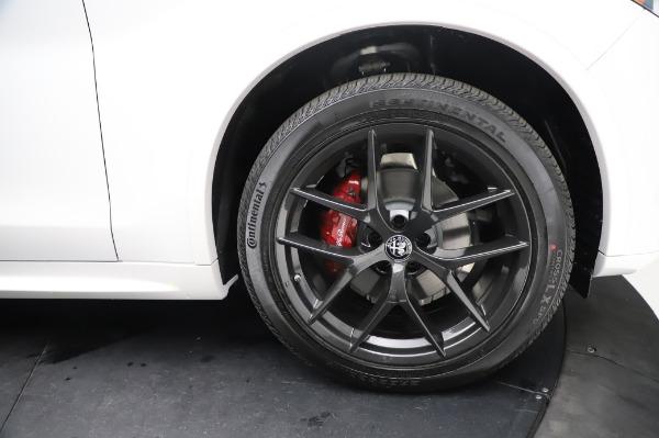 New 2021 Alfa Romeo Stelvio Ti Sport Q4 for sale $56,240 at Pagani of Greenwich in Greenwich CT 06830 28