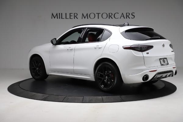 New 2021 Alfa Romeo Stelvio Ti Sport Q4 for sale $56,240 at Pagani of Greenwich in Greenwich CT 06830 4