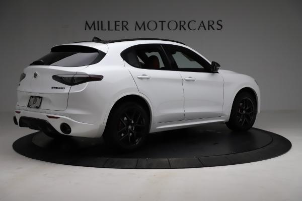New 2021 Alfa Romeo Stelvio Ti Sport Q4 for sale $56,240 at Pagani of Greenwich in Greenwich CT 06830 8