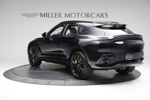 New 2021 Aston Martin DBX for sale $209,686 at Pagani of Greenwich in Greenwich CT 06830 4