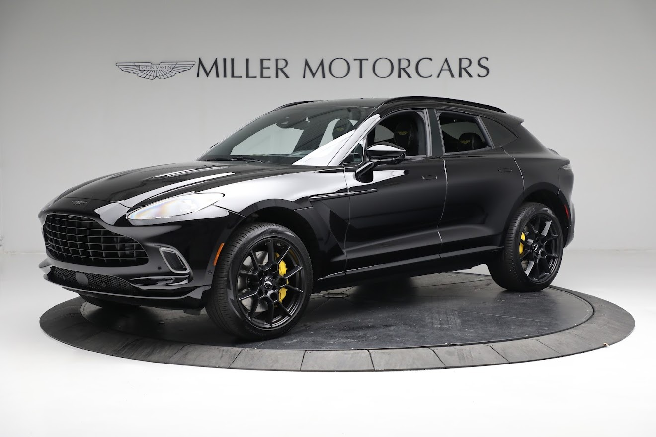 New 2021 Aston Martin DBX for sale $209,686 at Pagani of Greenwich in Greenwich CT 06830 1