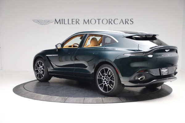 New 2021 Aston Martin DBX for sale $214,986 at Pagani of Greenwich in Greenwich CT 06830 3