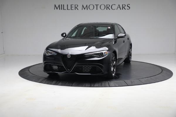 New 2021 Alfa Romeo Giulia Ti Sport Q4 for sale $54,050 at Pagani of Greenwich in Greenwich CT 06830 1