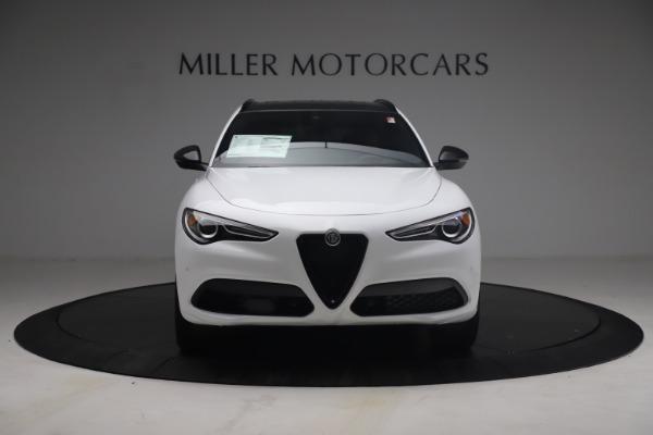 New 2021 Alfa Romeo Stelvio Ti Sport Q4 for sale $54,095 at Pagani of Greenwich in Greenwich CT 06830 13