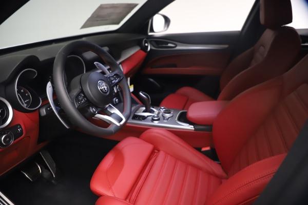 New 2021 Alfa Romeo Stelvio Ti Sport Q4 for sale $54,095 at Pagani of Greenwich in Greenwich CT 06830 14