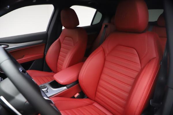 New 2021 Alfa Romeo Stelvio Ti Sport Q4 for sale $54,095 at Pagani of Greenwich in Greenwich CT 06830 16