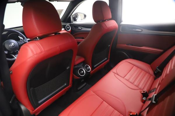 New 2021 Alfa Romeo Stelvio Ti Sport Q4 for sale $54,095 at Pagani of Greenwich in Greenwich CT 06830 18