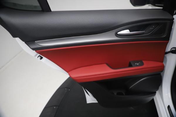 New 2021 Alfa Romeo Stelvio Ti Sport Q4 for sale $54,095 at Pagani of Greenwich in Greenwich CT 06830 21