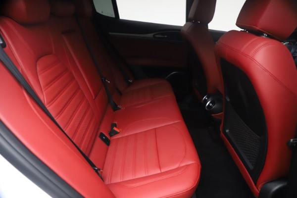 New 2021 Alfa Romeo Stelvio Ti Sport Q4 for sale $54,095 at Pagani of Greenwich in Greenwich CT 06830 26