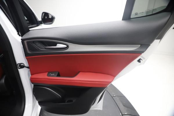 New 2021 Alfa Romeo Stelvio Ti Sport Q4 for sale $54,095 at Pagani of Greenwich in Greenwich CT 06830 27