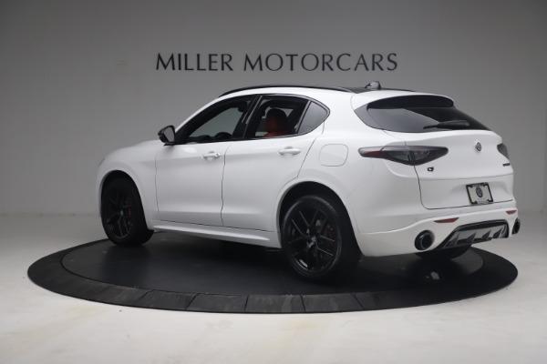 New 2021 Alfa Romeo Stelvio Ti Sport Q4 for sale $54,095 at Pagani of Greenwich in Greenwich CT 06830 5