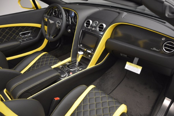 New 2017 Bentley Continental GT Speed Black Edition Convertible for sale Sold at Pagani of Greenwich in Greenwich CT 06830 23