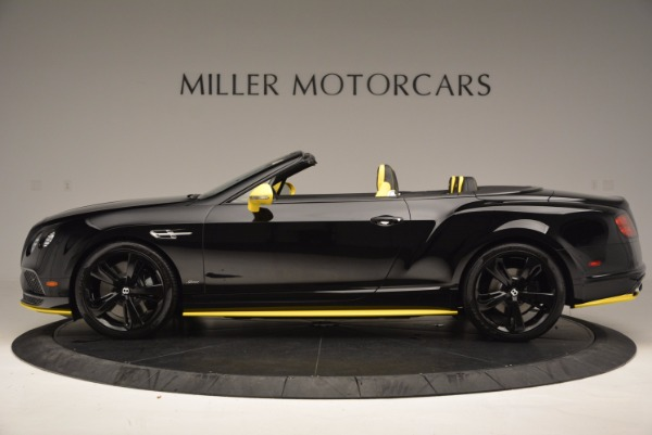 New 2017 Bentley Continental GT Speed Black Edition Convertible for sale Sold at Pagani of Greenwich in Greenwich CT 06830 3