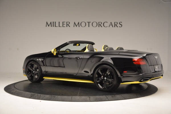 New 2017 Bentley Continental GT Speed Black Edition Convertible for sale Sold at Pagani of Greenwich in Greenwich CT 06830 4