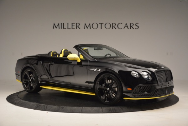 New 2017 Bentley Continental GT Speed Black Edition Convertible for sale Sold at Pagani of Greenwich in Greenwich CT 06830 7