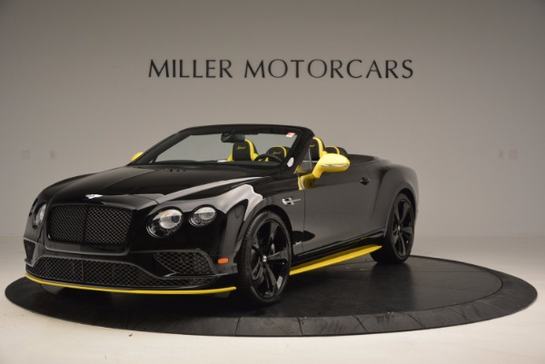 New 2017 Bentley Continental GT Speed Black Edition Convertible for sale Sold at Pagani of Greenwich in Greenwich CT 06830 1