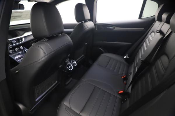 New 2021 Alfa Romeo Stelvio Ti Sport Q4 for sale $57,200 at Pagani of Greenwich in Greenwich CT 06830 17