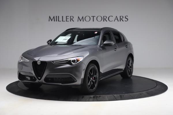 New 2021 Alfa Romeo Stelvio Ti Sport Q4 for sale $57,200 at Pagani of Greenwich in Greenwich CT 06830 2