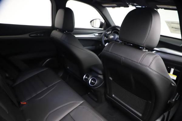 New 2021 Alfa Romeo Stelvio Ti Sport Q4 for sale $57,200 at Pagani of Greenwich in Greenwich CT 06830 24