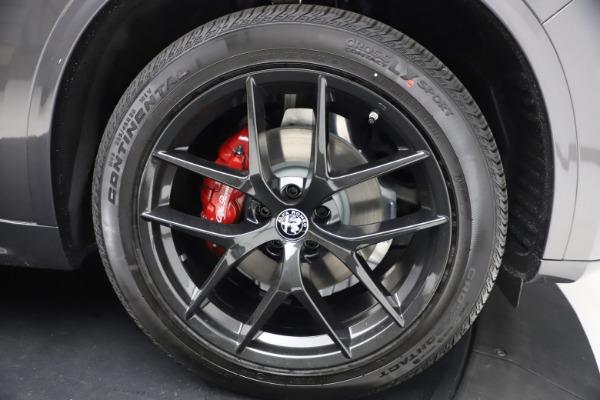 New 2021 Alfa Romeo Stelvio Ti Sport Q4 for sale $57,200 at Pagani of Greenwich in Greenwich CT 06830 26