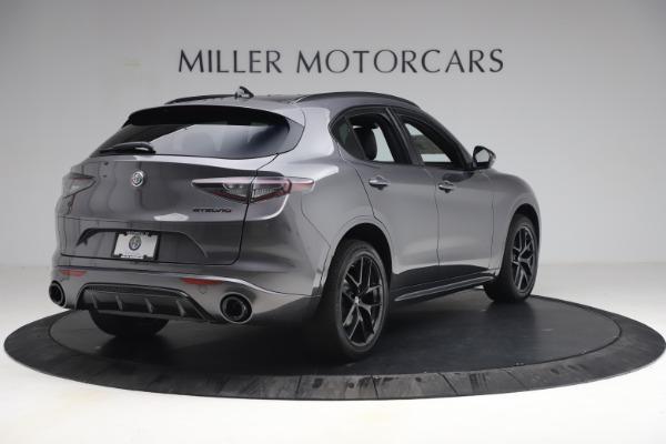 New 2021 Alfa Romeo Stelvio Ti Sport Q4 for sale $57,200 at Pagani of Greenwich in Greenwich CT 06830 7