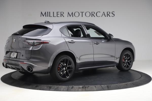 New 2021 Alfa Romeo Stelvio Ti Sport Q4 for sale $57,200 at Pagani of Greenwich in Greenwich CT 06830 8