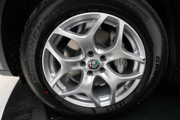 New 2021 Alfa Romeo Stelvio Q4 for sale $50,445 at Pagani of Greenwich in Greenwich CT 06830 23