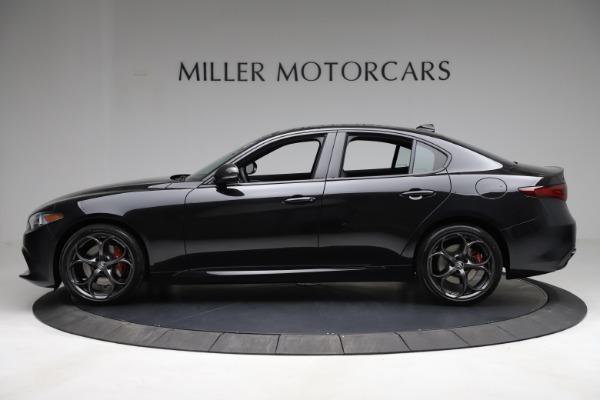 New 2021 Alfa Romeo Giulia Ti Sport Q4 for sale $53,750 at Pagani of Greenwich in Greenwich CT 06830 4