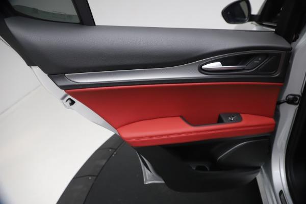 New 2021 Alfa Romeo Stelvio Ti Sport Q4 for sale $57,200 at Pagani of Greenwich in Greenwich CT 06830 20