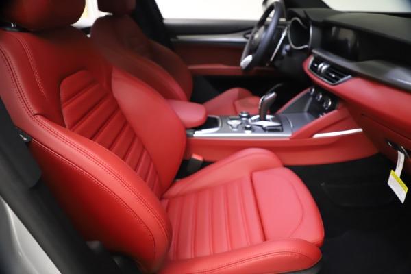 New 2021 Alfa Romeo Stelvio Ti Sport Q4 for sale $57,200 at Pagani of Greenwich in Greenwich CT 06830 22