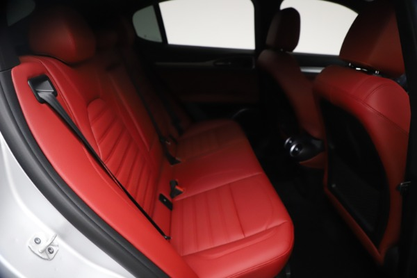 New 2021 Alfa Romeo Stelvio Ti Sport Q4 for sale $57,200 at Pagani of Greenwich in Greenwich CT 06830 25