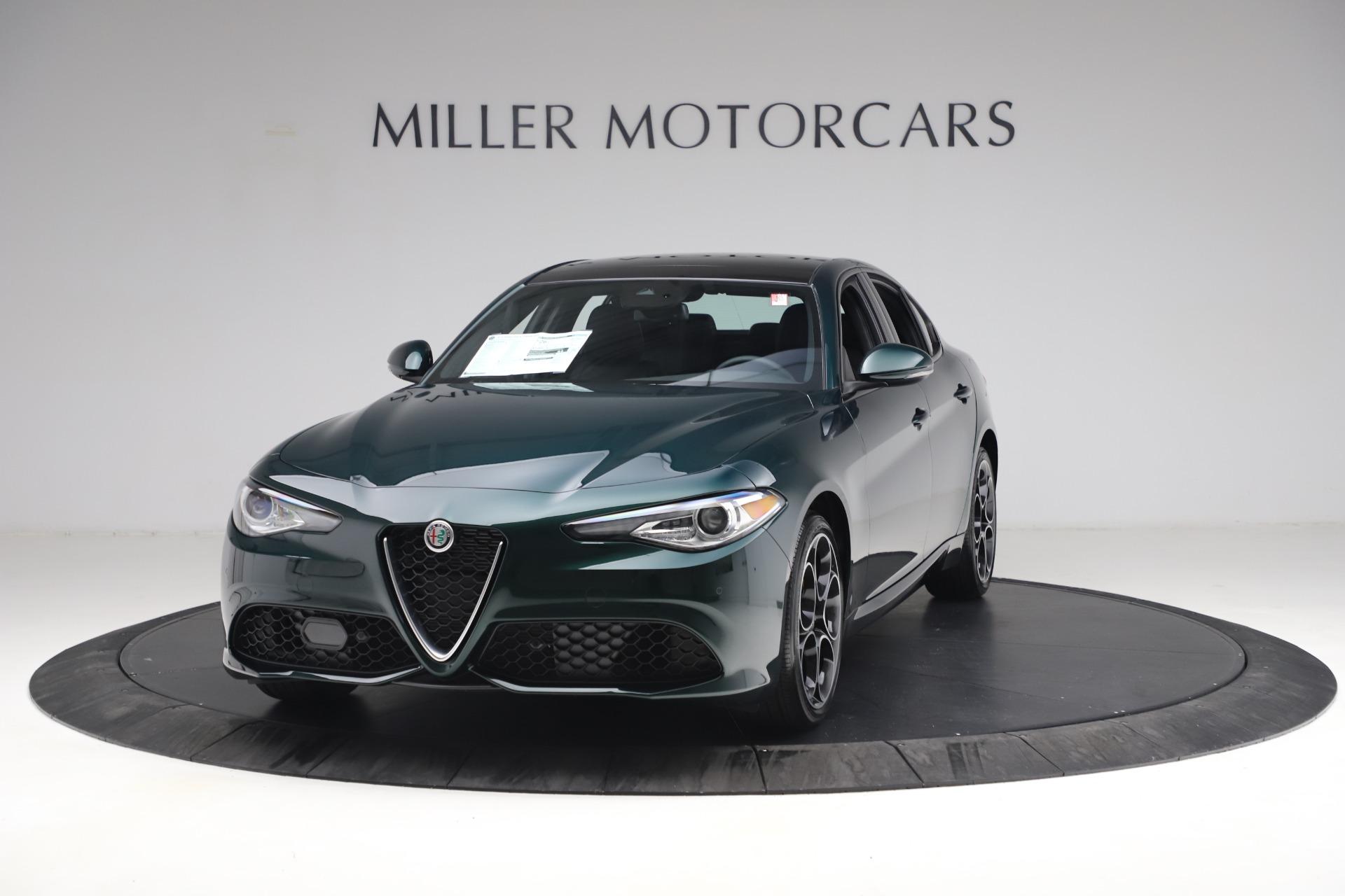 New 2021 Alfa Romeo Giulia Ti Sport Q4 for sale $53,050 at Pagani of Greenwich in Greenwich CT 06830 1