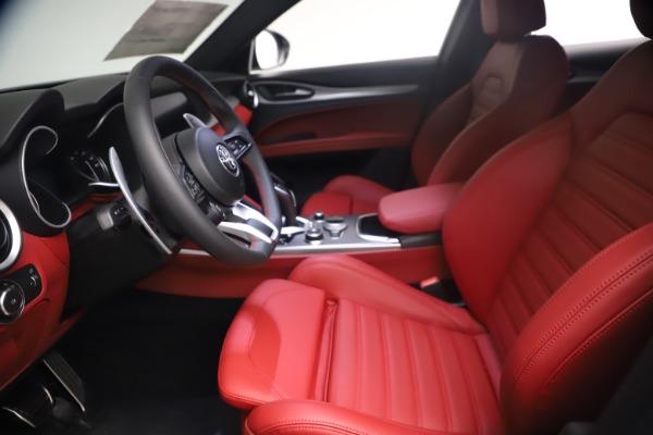 New 2021 Alfa Romeo Stelvio Ti Sport Q4 for sale $54,095 at Pagani of Greenwich in Greenwich CT 06830 15