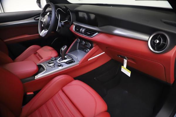 New 2021 Alfa Romeo Stelvio Ti Sport Q4 for sale $54,095 at Pagani of Greenwich in Greenwich CT 06830 22