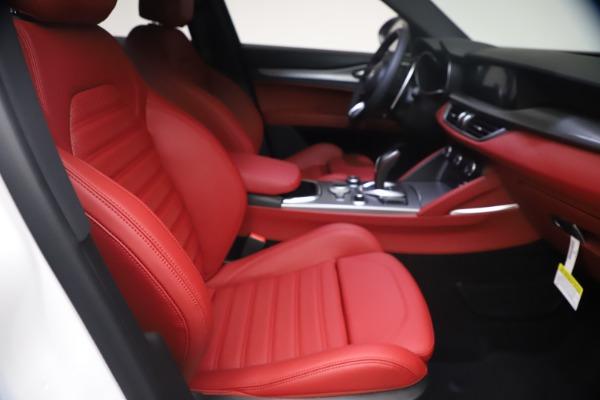 New 2021 Alfa Romeo Stelvio Ti Sport Q4 for sale $54,095 at Pagani of Greenwich in Greenwich CT 06830 23