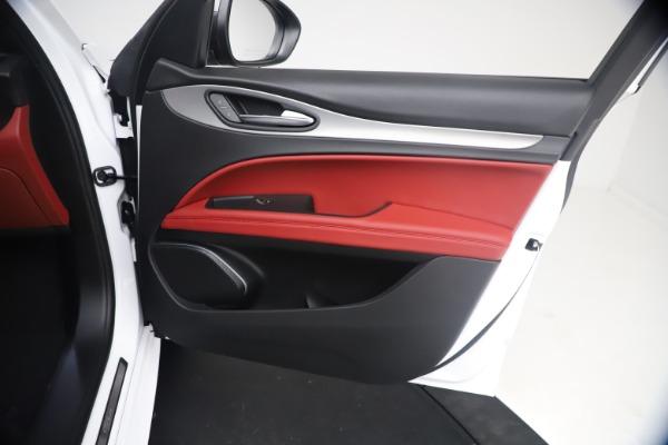New 2021 Alfa Romeo Stelvio Ti Sport Q4 for sale $54,095 at Pagani of Greenwich in Greenwich CT 06830 24