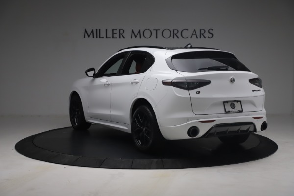 New 2021 Alfa Romeo Stelvio Ti Sport Q4 for sale $54,095 at Pagani of Greenwich in Greenwich CT 06830 6