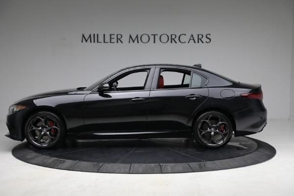 New 2021 Alfa Romeo Giulia Ti Sport Q4 for sale $54,050 at Pagani of Greenwich in Greenwich CT 06830 3