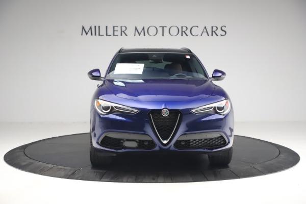 New 2021 Alfa Romeo Stelvio Ti Sport Q4 for sale $55,700 at Pagani of Greenwich in Greenwich CT 06830 12