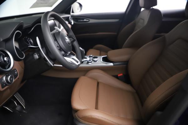 New 2021 Alfa Romeo Stelvio Ti Sport Q4 for sale $55,700 at Pagani of Greenwich in Greenwich CT 06830 13