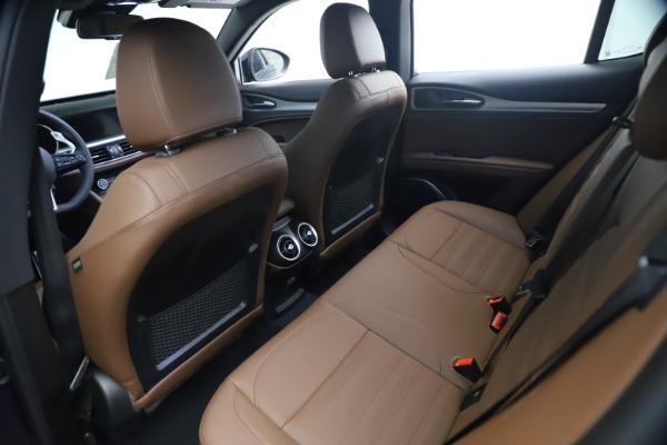 New 2021 Alfa Romeo Stelvio Ti Sport Q4 for sale $55,700 at Pagani of Greenwich in Greenwich CT 06830 16