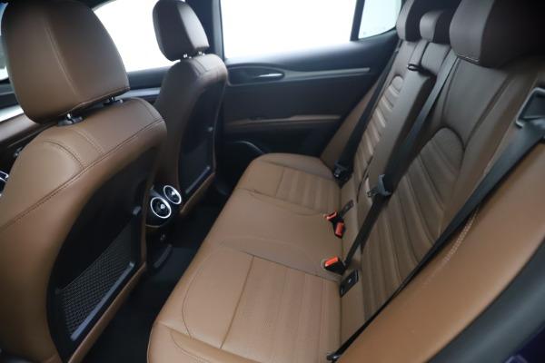 New 2021 Alfa Romeo Stelvio Ti Sport Q4 for sale $55,700 at Pagani of Greenwich in Greenwich CT 06830 17