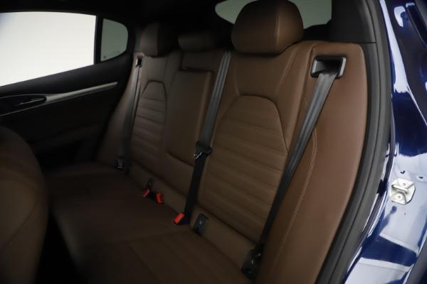 New 2021 Alfa Romeo Stelvio Ti Sport Q4 for sale $55,700 at Pagani of Greenwich in Greenwich CT 06830 18