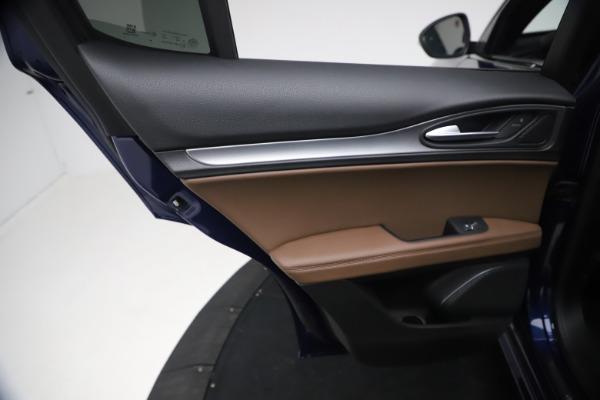 New 2021 Alfa Romeo Stelvio Ti Sport Q4 for sale $55,700 at Pagani of Greenwich in Greenwich CT 06830 19