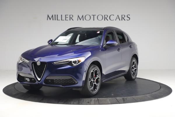 New 2021 Alfa Romeo Stelvio Ti Sport Q4 for sale $55,700 at Pagani of Greenwich in Greenwich CT 06830 2