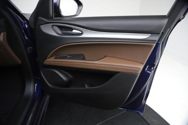 New 2021 Alfa Romeo Stelvio Ti Sport Q4 for sale $55,700 at Pagani of Greenwich in Greenwich CT 06830 22