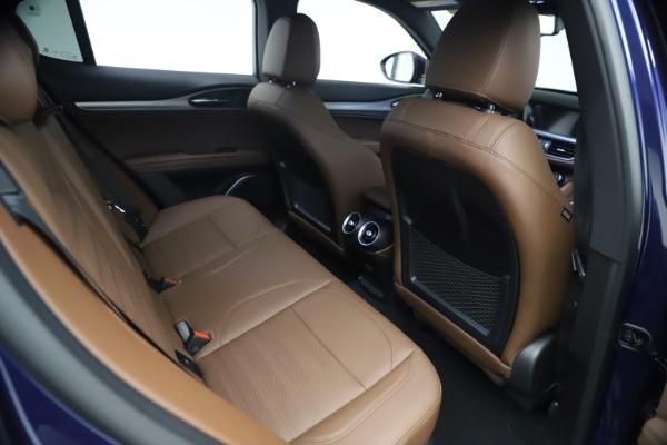 New 2021 Alfa Romeo Stelvio Ti Sport Q4 for sale $55,700 at Pagani of Greenwich in Greenwich CT 06830 23