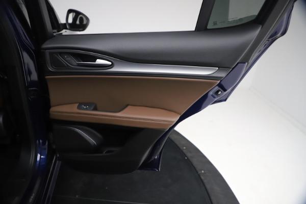 New 2021 Alfa Romeo Stelvio Ti Sport Q4 for sale $55,700 at Pagani of Greenwich in Greenwich CT 06830 25